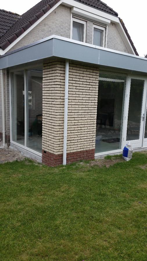 aanbouw-met-raamkozijn-in-zijgevel Almere